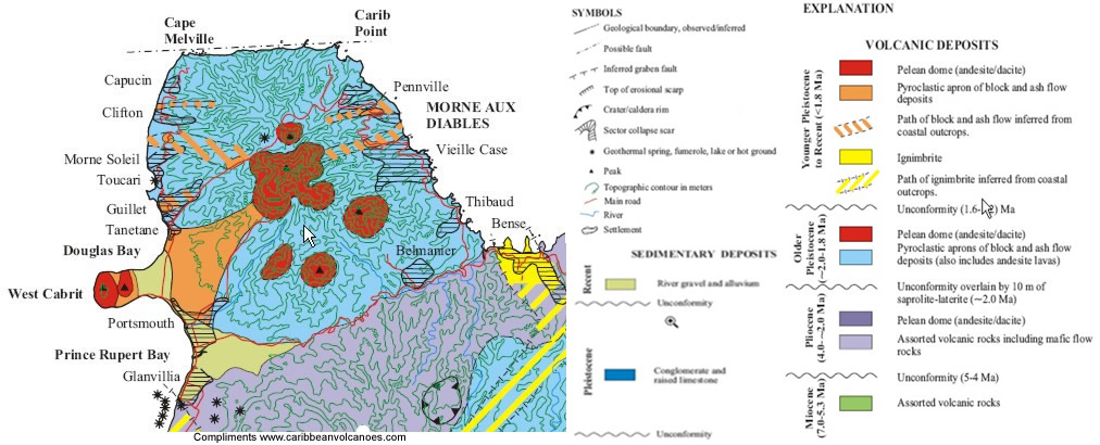 an overview of the geography of dominica a caribbean country Islands, islets and cays:overall the caribbean is comprised of more than 7,000 islands that number includes islets (very small rocky islands) cay's (small, low islands composed largely of coral or sand) and a few inhabited reefs: see belize.